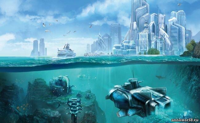 Анонсирован первый аддон к Anno 2070, превью