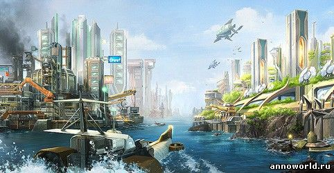 К игре Anno 2070 вышел патч, превью